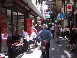 Pedestrian Friendly Alley